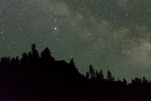Milky Way over the Salmon River