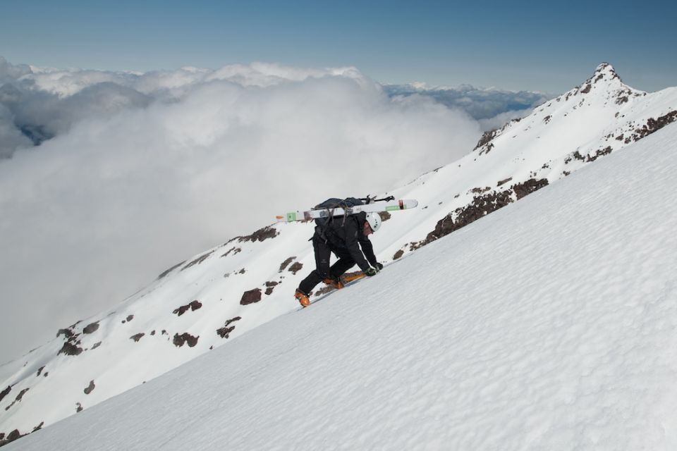 Chris Holm Ascending West Rib Of Mount Jefferson 4x6.jpg